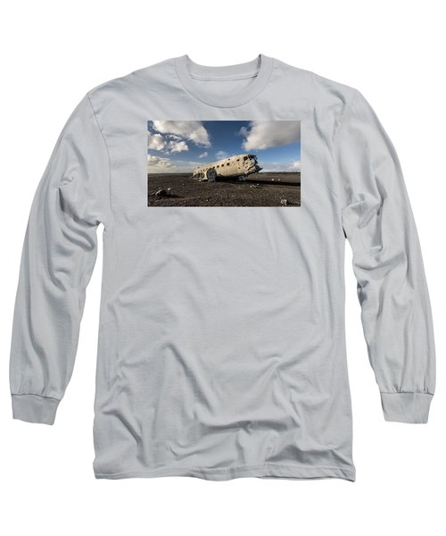 Crashed Dc-3 Long Sleeve T-Shirt