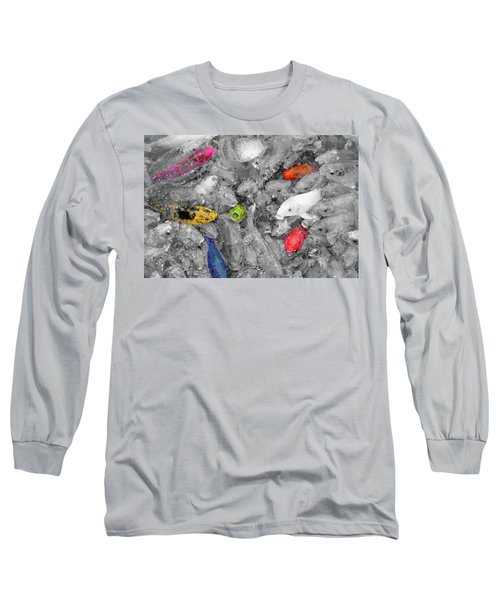 Create Your Own Happiness And Break Free Of The Grey Long Sleeve T-Shirt