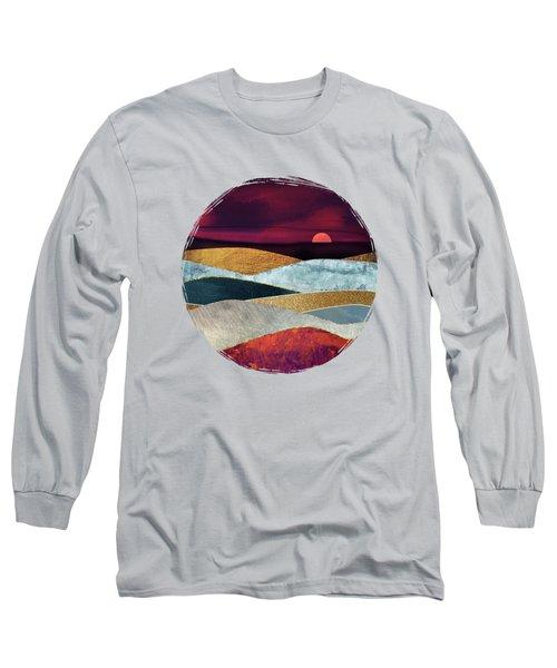 Crimson Sky Long Sleeve T-Shirt