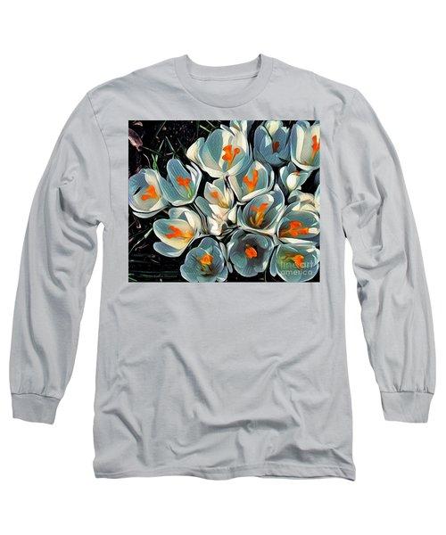 Crocus In The Shadows Long Sleeve T-Shirt