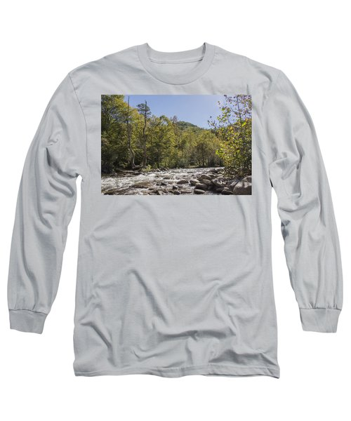 Crooked Tree Curve Long Sleeve T-Shirt by Ricky Dean