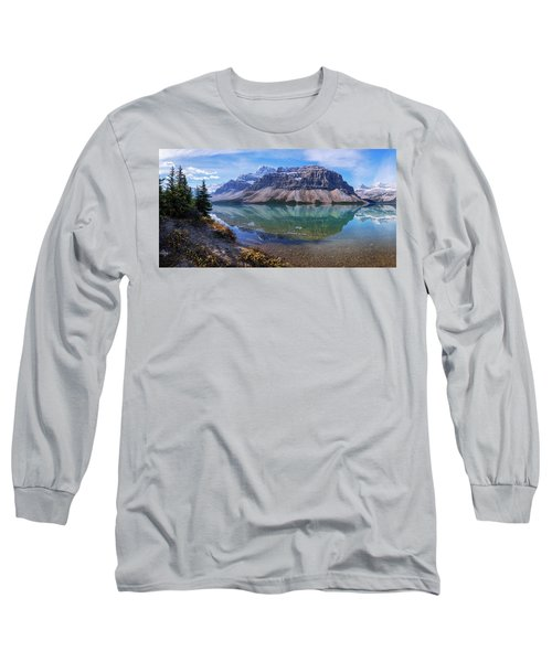 Long Sleeve T-Shirt featuring the photograph Crowfoot Reflection by Chad Dutson