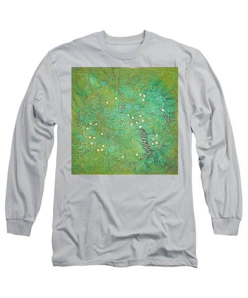 Cruciferous Flower Long Sleeve T-Shirt by Bernard Goodman