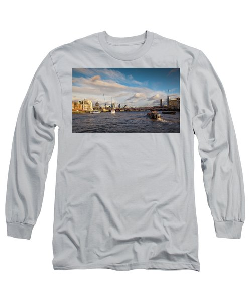 Cruise On The Thames Long Sleeve T-Shirt