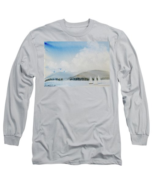 Cruising In Company Along The Tasmania Coast  Long Sleeve T-Shirt