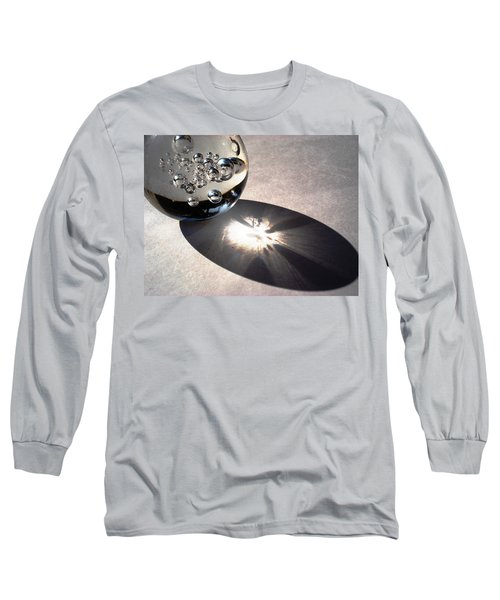 Crystal Ball With Trapped Air Bubbles Long Sleeve T-Shirt