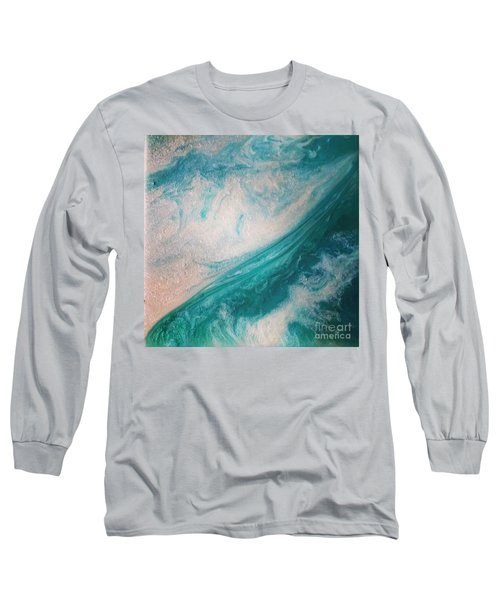 Crystal Wave15 Long Sleeve T-Shirt