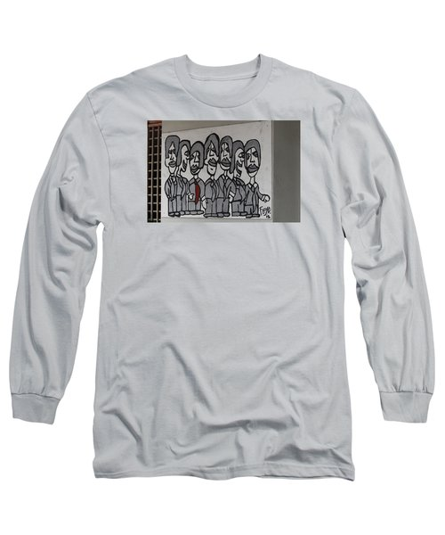 Cuban Art Long Sleeve T-Shirt
