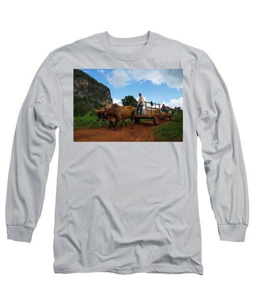 Cuban Worker II Long Sleeve T-Shirt