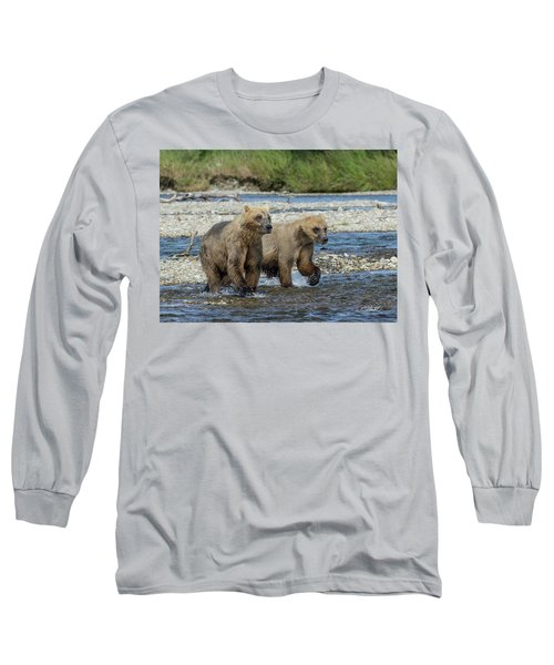 Cubs On The Prowl Long Sleeve T-Shirt