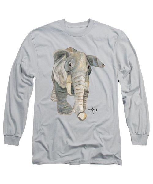 Cuddly Elephant Long Sleeve T-Shirt