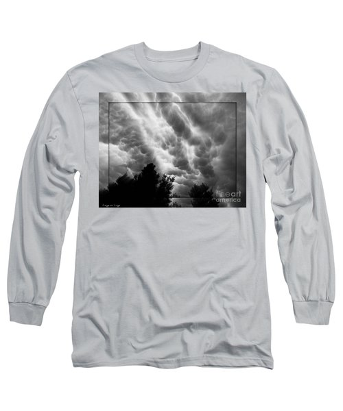 Cumulonimbus Clouds Over Cagliari Long Sleeve T-Shirt