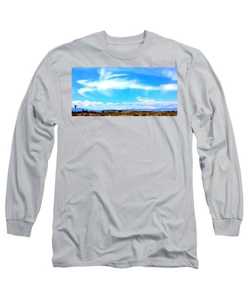 Dragon Cloud Over Suburbia Long Sleeve T-Shirt
