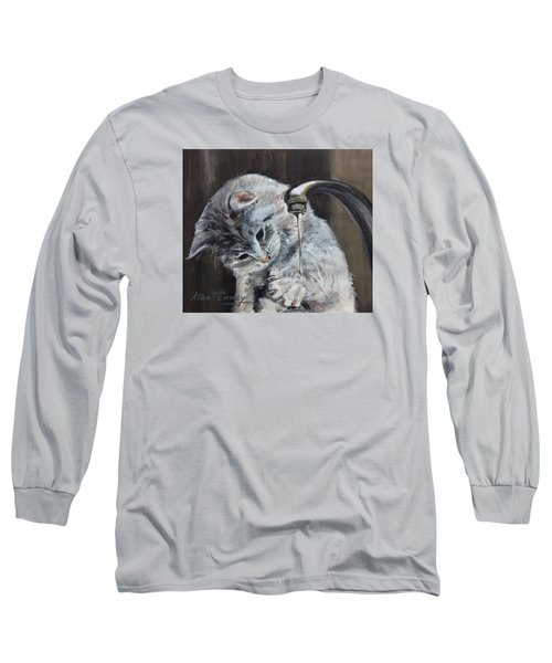 Curiosity Long Sleeve T-Shirt by Stan Tenney