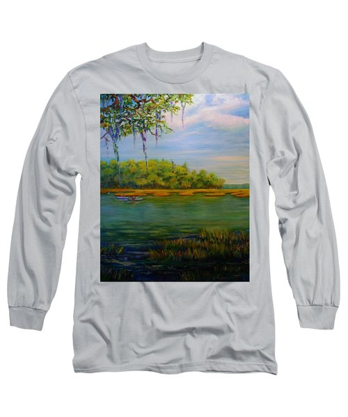 Current Events Long Sleeve T-Shirt by Dorothy Allston Rogers