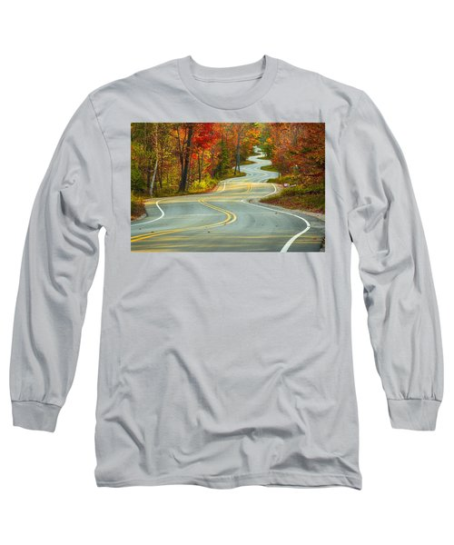 Curvaceous Long Sleeve T-Shirt by Bill Pevlor