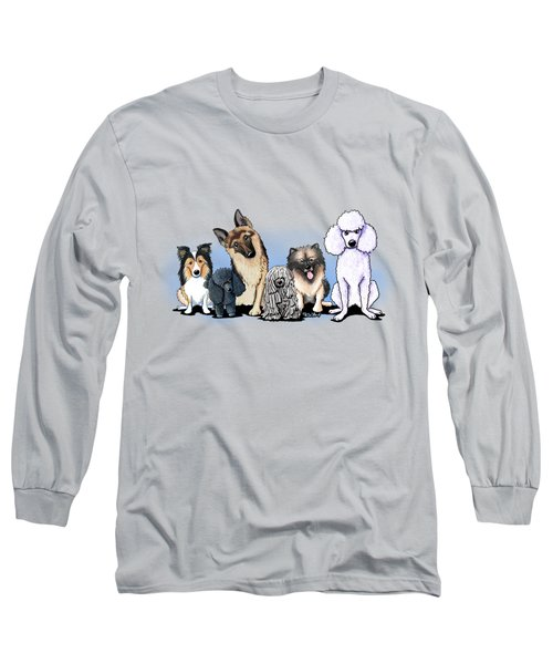 Custom Breed4ginnie Print Long Sleeve T-Shirt