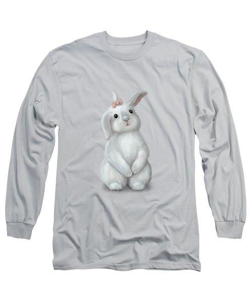 Cute Bunny Girl Long Sleeve T-Shirt