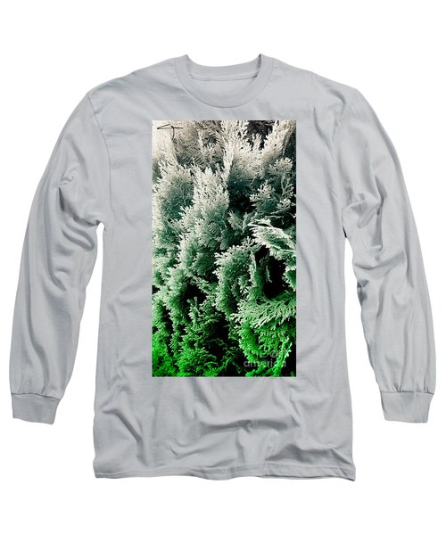 Cypress Branches No.5 Long Sleeve T-Shirt