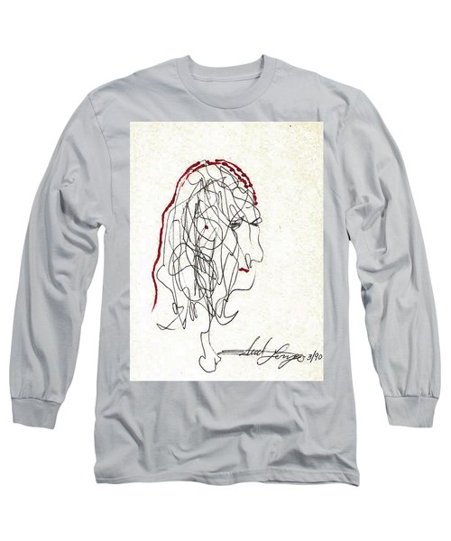 Da Vinci Drawing Long Sleeve T-Shirt