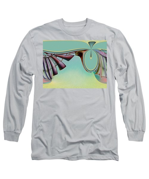 Da Vinci's Nudge Long Sleeve T-Shirt by Wendy J St Christopher