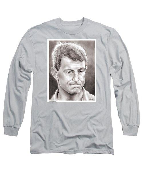 Dabo Swinney Long Sleeve T-Shirt by Greg Joens