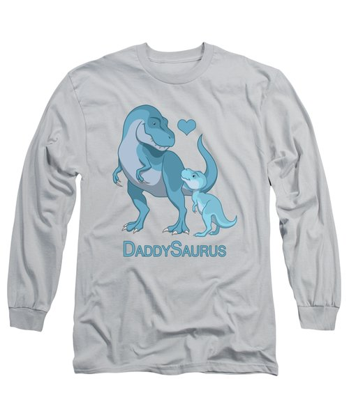 Daddy Tyrannosaurus Rex Baby Boy Long Sleeve T-Shirt