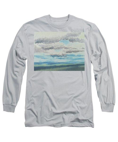 Dagrar Over Salenfjallen- Shifting Daylight Over Distant Horizon 8 Of 10_0029 Long Sleeve T-Shirt