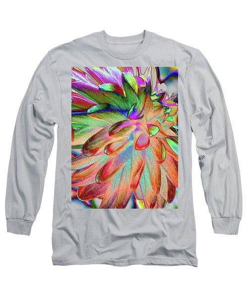 Dahlia Fantasy Long Sleeve T-Shirt