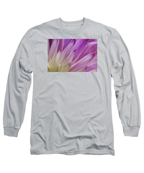 Dahlia Petals Long Sleeve T-Shirt