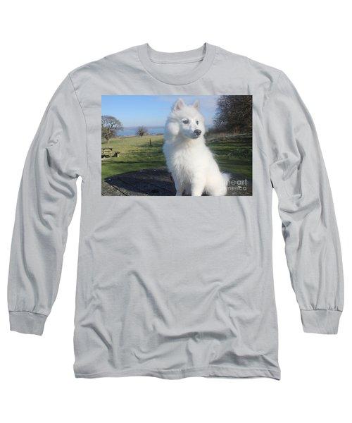 Daisy Long Sleeve T-Shirt by David Grant