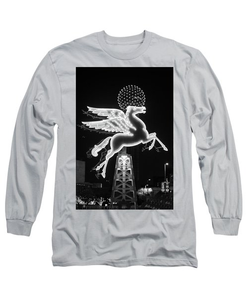 Dallas Pegasus Bw 121517 Long Sleeve T-Shirt