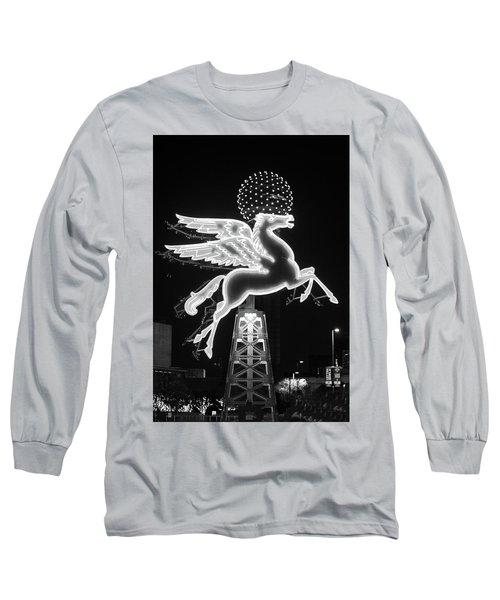 Dallas Pegasus Bw 121517 Long Sleeve T-Shirt