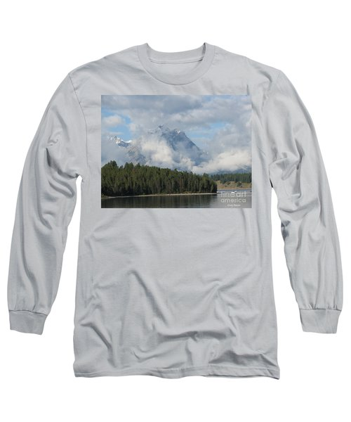 Long Sleeve T-Shirt featuring the photograph Dam Clouds by Greg Patzer