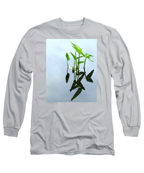 Damselfly In The Mirror Long Sleeve T-Shirt