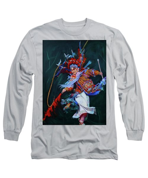 Dan Chinese Opera Long Sleeve T-Shirt