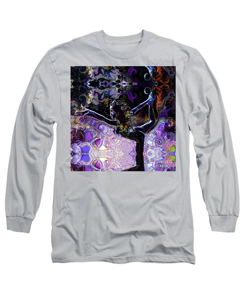 Dancer Pose Long Sleeve T-Shirt