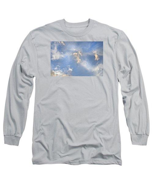 Dancing Clouds Long Sleeve T-Shirt by Wanda Krack