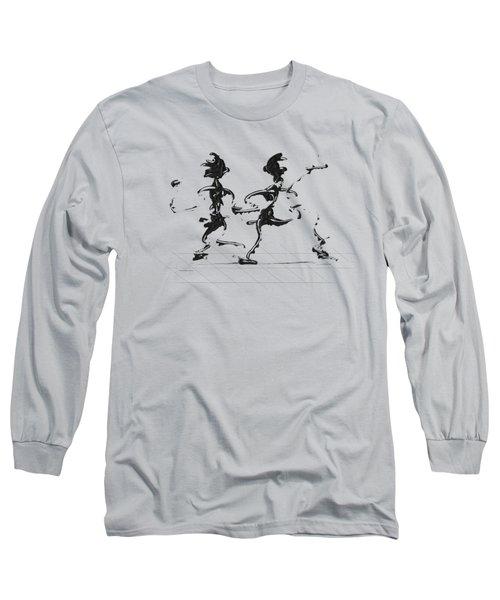 Dancing Couple 3 Long Sleeve T-Shirt
