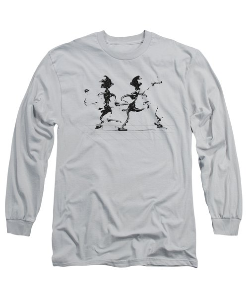 Dancing Couple 3 Long Sleeve T-Shirt