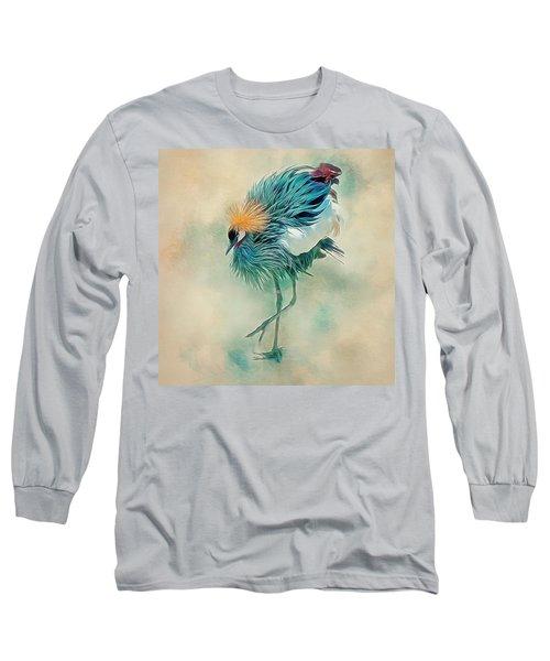 Dancing Crane Long Sleeve T-Shirt