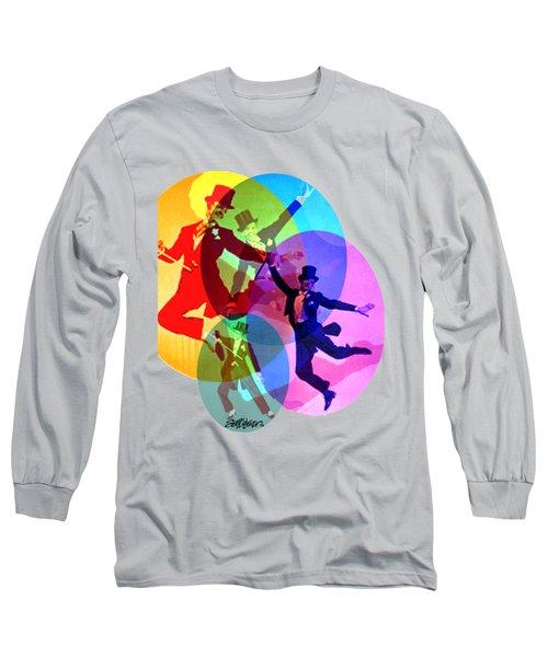 Dancing On Air Long Sleeve T-Shirt by Seth Weaver