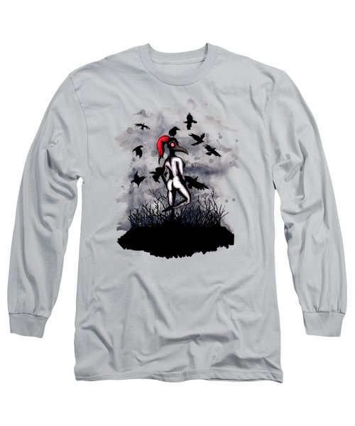 Dancing With Crows Long Sleeve T-Shirt