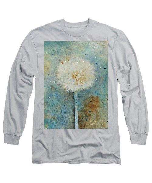 Dandelion Clock 2 Long Sleeve T-Shirt