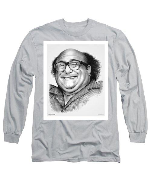 Danny Devito Long Sleeve T-Shirt by Greg Joens