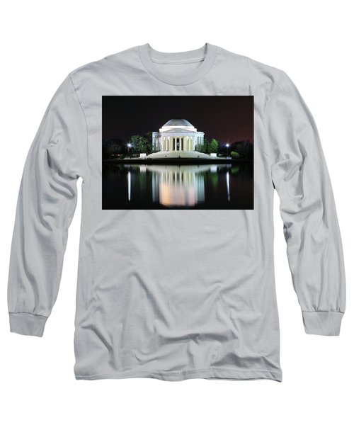 Darkness Over The Jefferson Memorial Long Sleeve T-Shirt