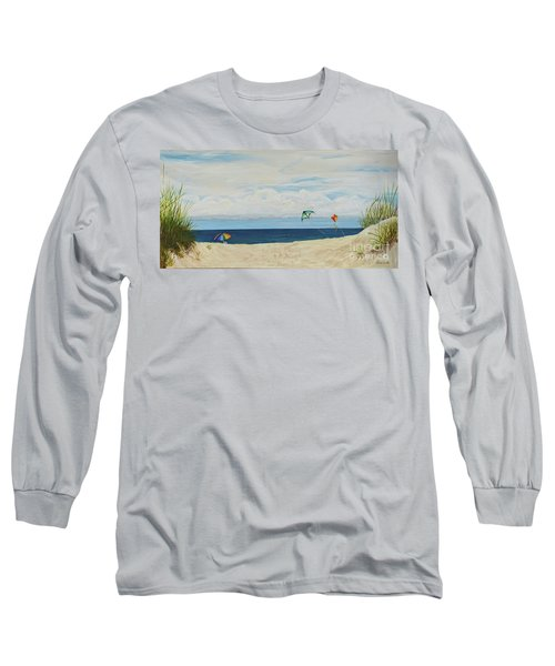 Day On Beach Long Sleeve T-Shirt