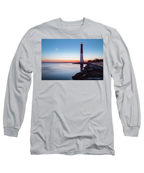Daybreak At Barnegat Long Sleeve T-Shirt by Eduard Moldoveanu