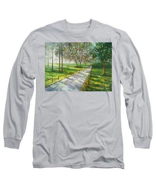 Dayspring Retreat Long Sleeve T-Shirt by Lou Ann Bagnall