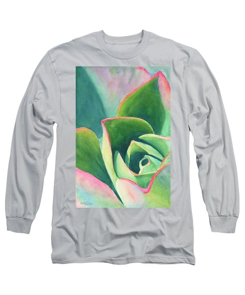 Dazzling Like A Jewel Long Sleeve T-Shirt by Sandy Fisher